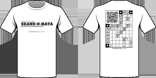 SKAND-O-MATA™ póló