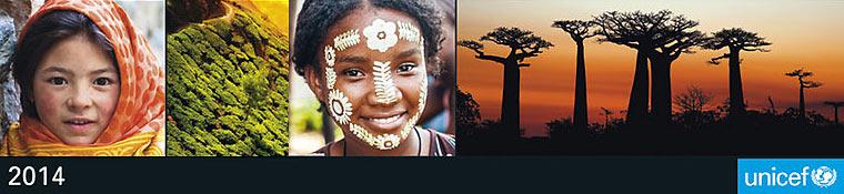 UNICEF falinaptár 2014